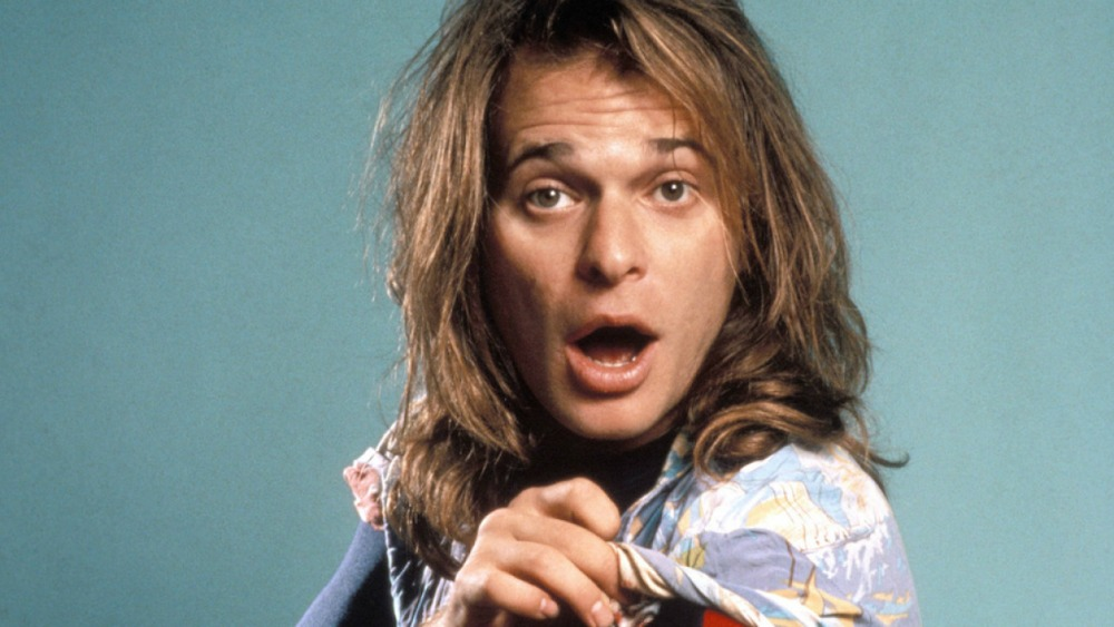 David Lee Roth in New York City on January 7, 1985. (Photo by Ebet Roberts/Redferns)