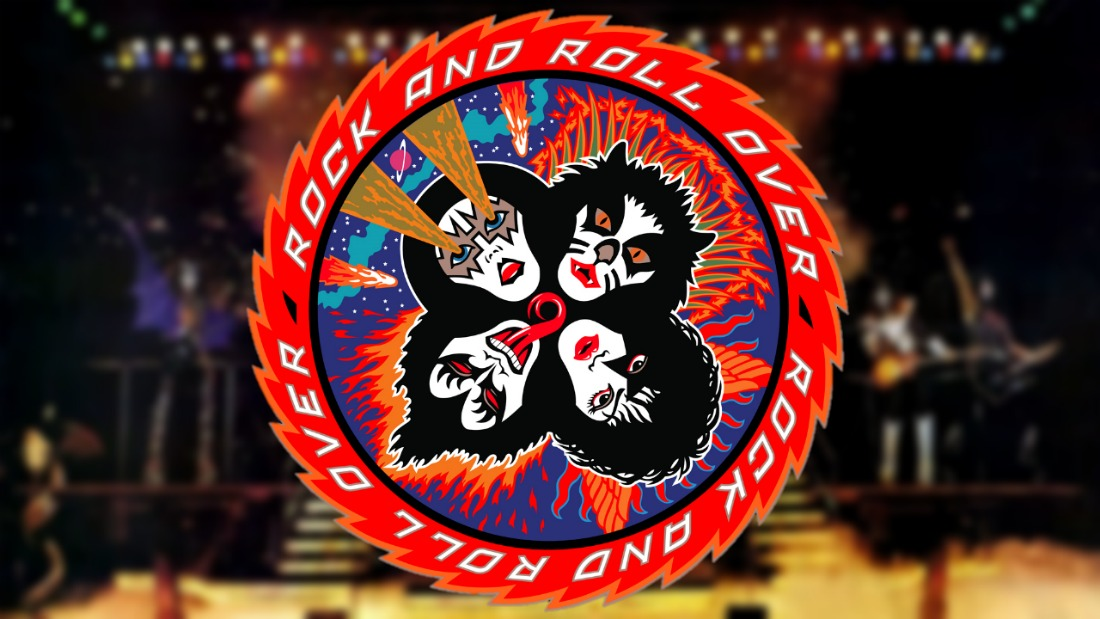 kiss rock and roll over