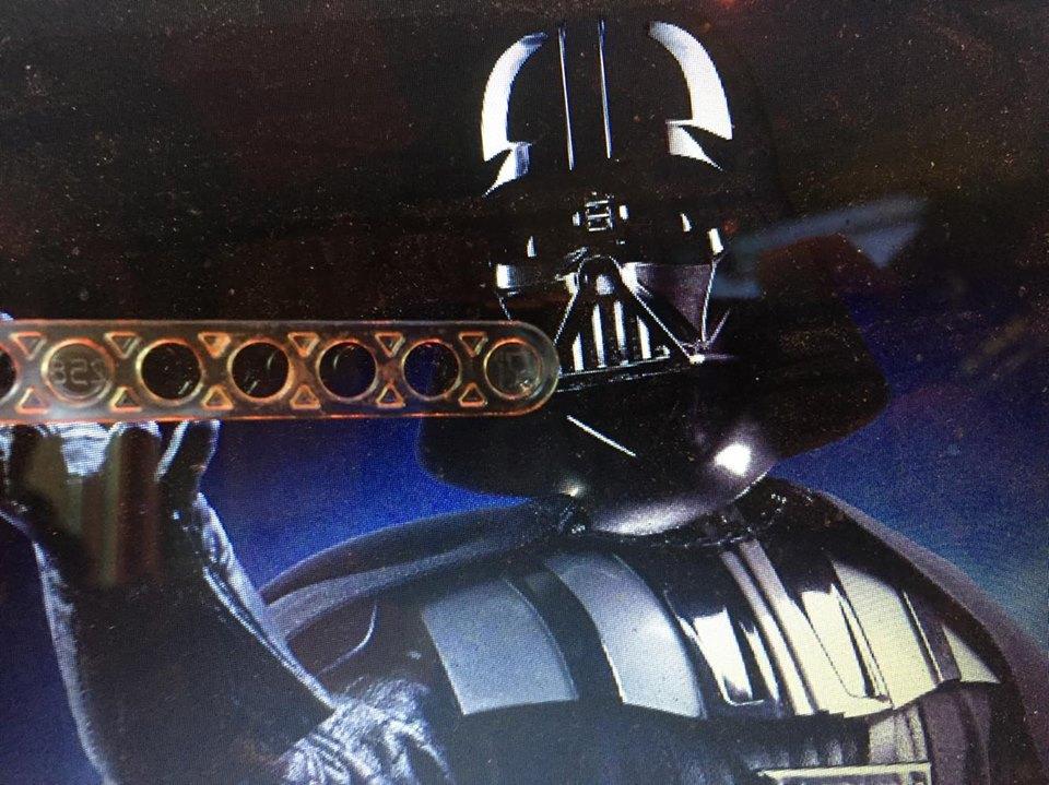 Darth Vader  e il cucchiaino del caffè