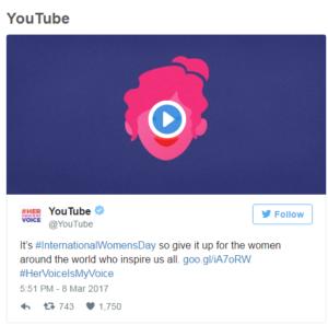 youtube women day