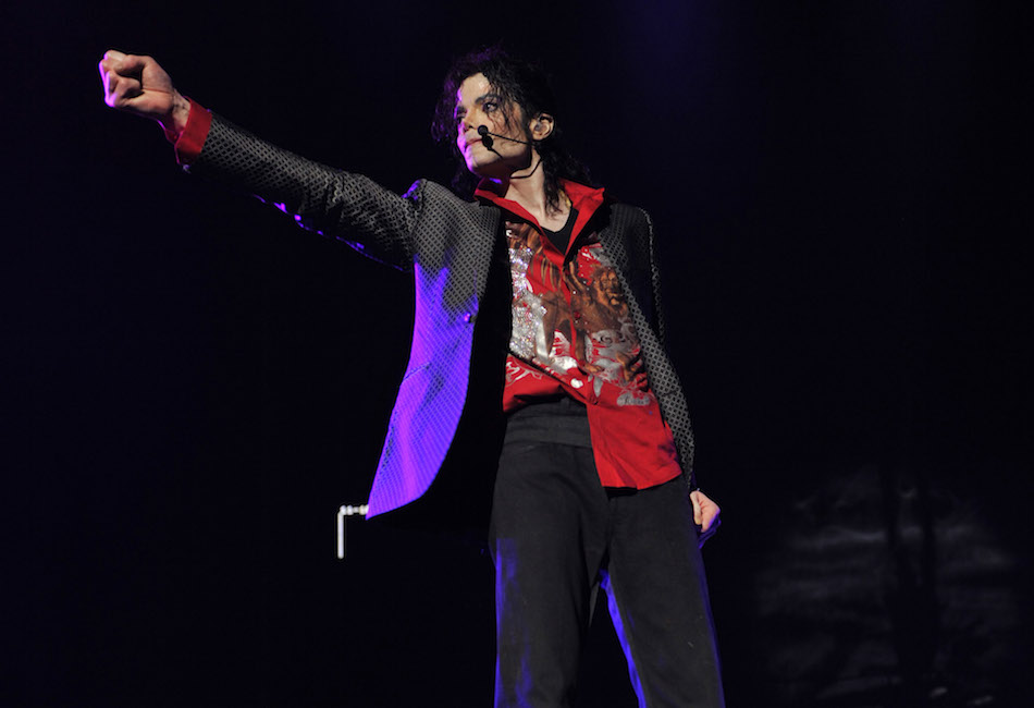 "Michael Jackson in ""This Is It."""