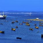 作品名称《宁静的漁港》作者熊卓亚·市城建局
